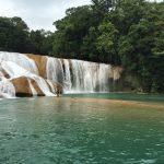 Imagen cascadas de agua azul