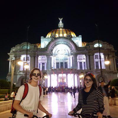 Dia de muertos paseo en bici