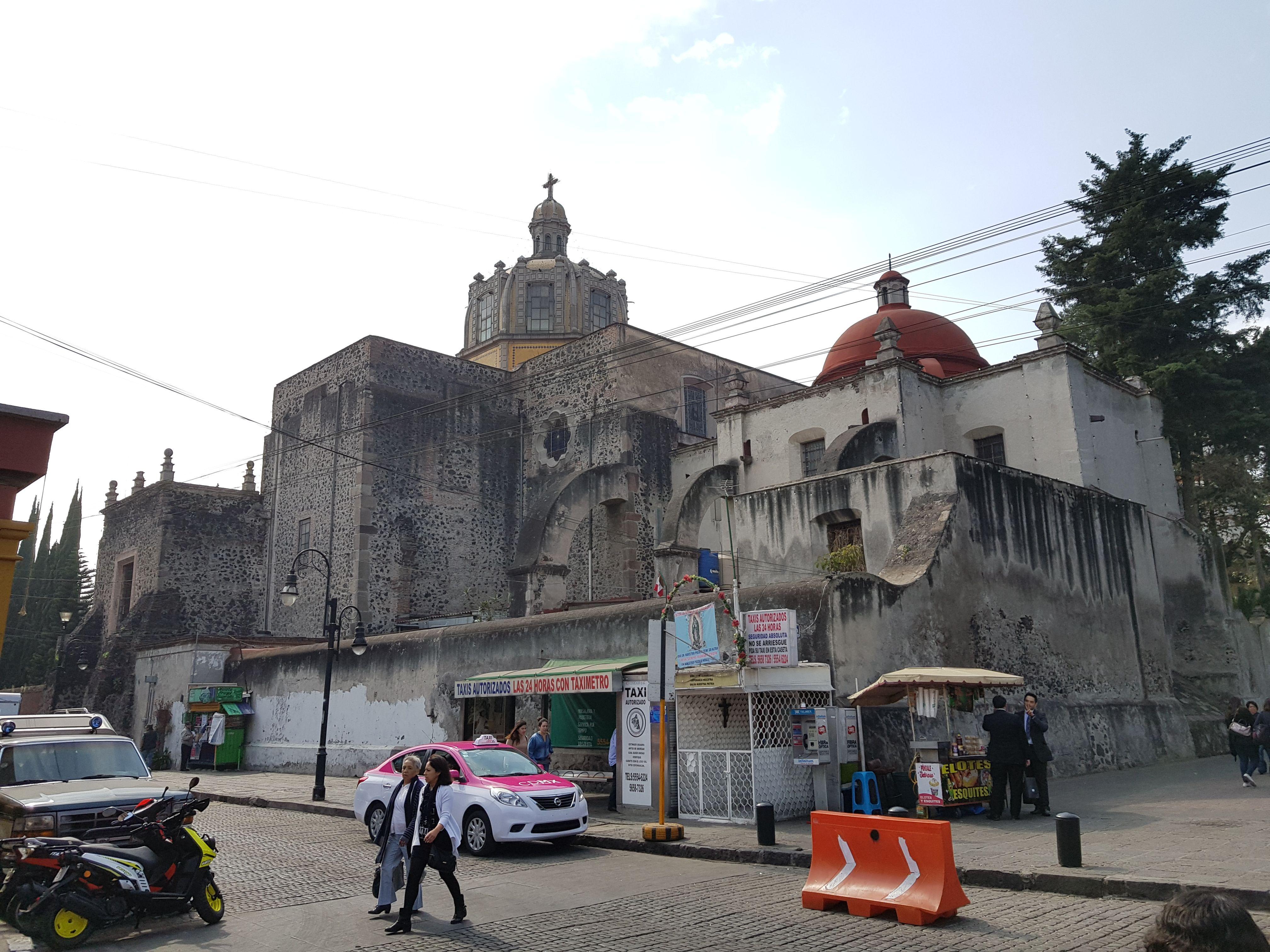 Coyoacán Iglesia de San Juan Bautista