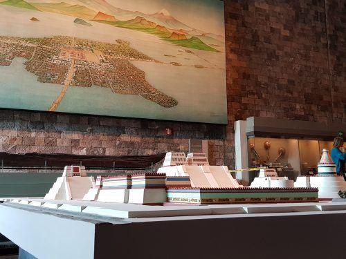 Museo de Antropología maqueta