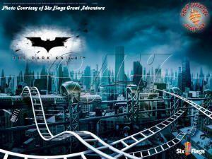 dark knight coaster six flags