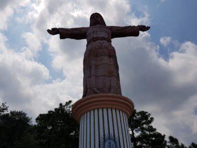El cristo monumental de taxco