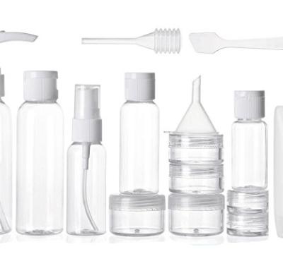 kit de botellas para viajar