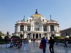 Bellas Artes centro de la ciudad de México