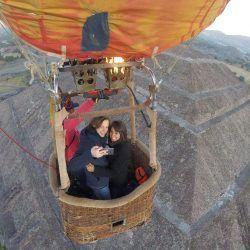 Globos en Teotihuacán