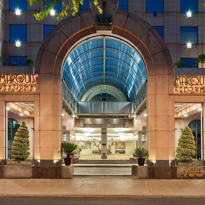 Hoteles en la Ciudad de México en Reforma