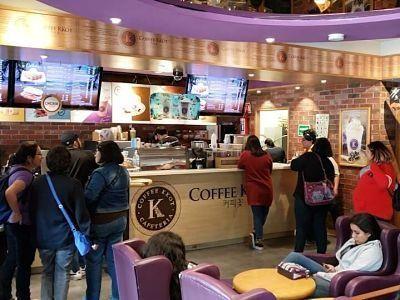 coffe kkot barrio coreano