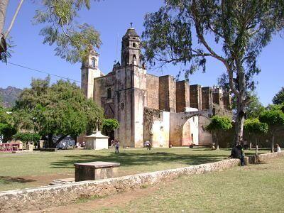 ex-convento de tepoztlán