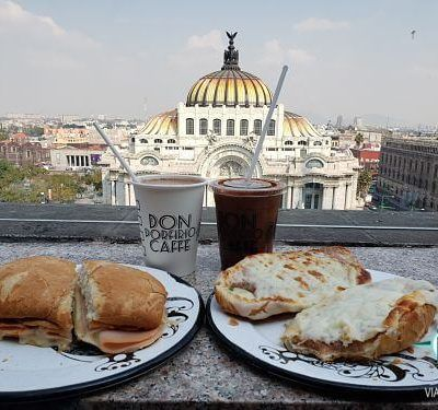 Mirador sears y café don porfirio