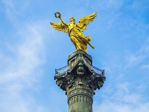 mirador cdmx del ángel de independencia