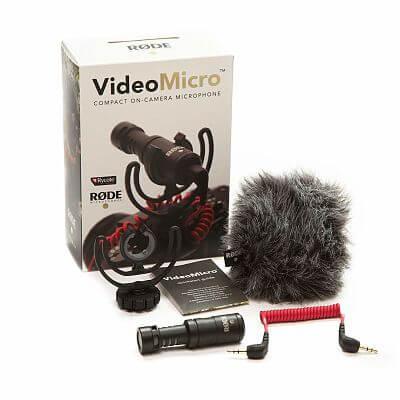 Rode, Montaje Mini para Micrófono en Cámara