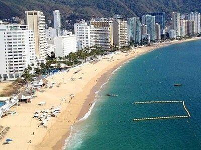las mejores playas de acapulco