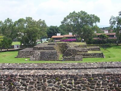 Teopanzolco- Morelos