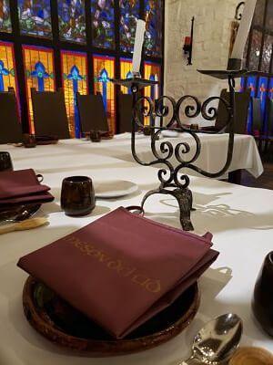 restaurante medieval cdmx