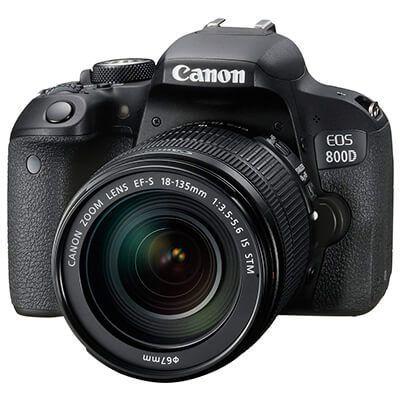 Mejor cámara para viajar Canon EOS 800D