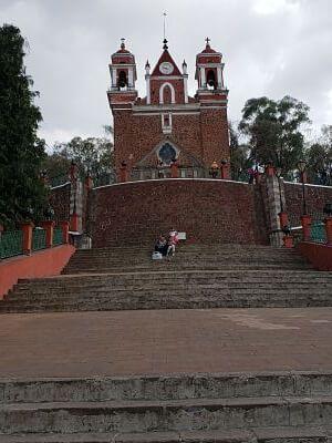 Iglesia del calvario metepec