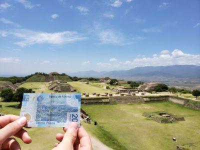 Monte albán en Oaxaca