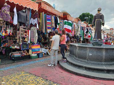 Mercado Artesanías Puebla