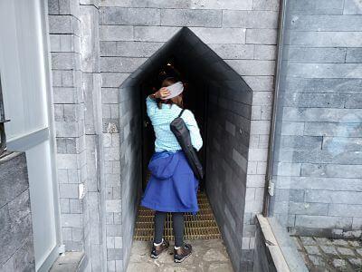 Túnel subterráneo pirámide Cholula