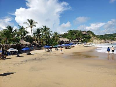 Playa el Rinconcito Mazunte