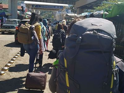 Cruce a Guatemala desde Chiapas