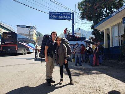 Cruce a Guatemala Frontera la Mesilla