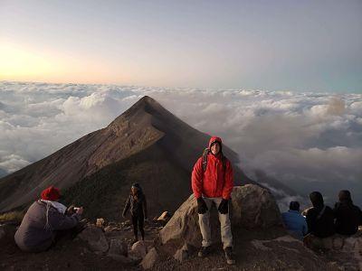 Acatenango volcán