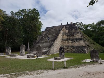 Zona arquelógica de Tikal