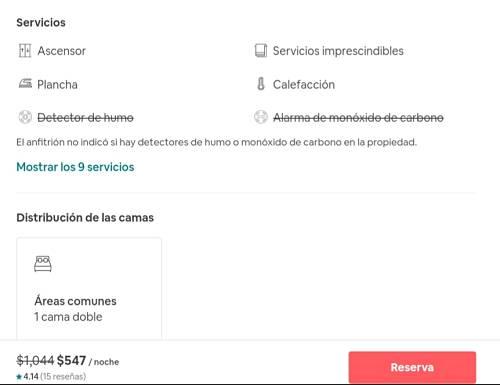 Airbnb como reservar