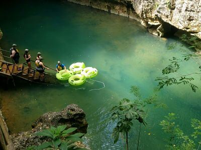 Cave Tubing Belice
