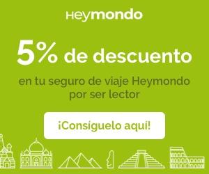 5 % de descuento en seguro de viajes