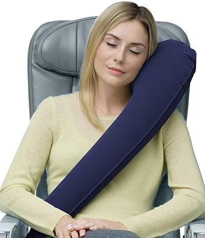 almohada viajera