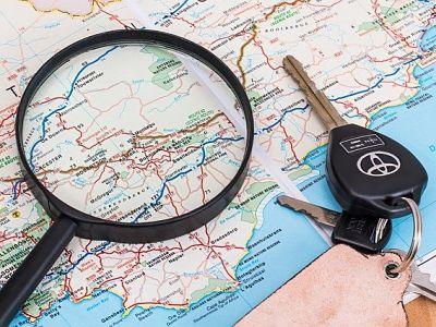 renta de auto para viajar