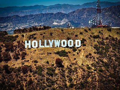 Hollywood sign en Los Ángeles California